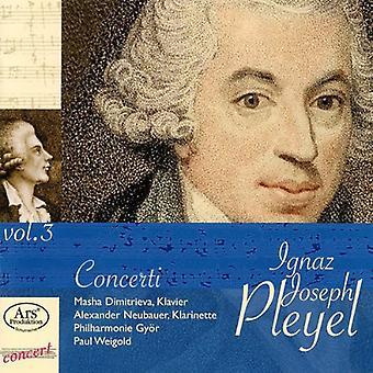 Weigold / Pleyel / Dimitrieva / Neubauer - Konzert-Raritaten 3 [CD] USA import