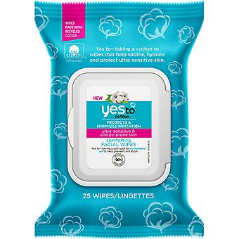 Yes To Cotton 100% Cotton Facial Wipes