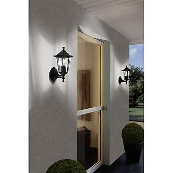 Eglo Laterna Outdoor Wall Wandleuchte Light Black