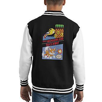 Super Igel Bro & Tails Jagd Kid Varsity Jacket