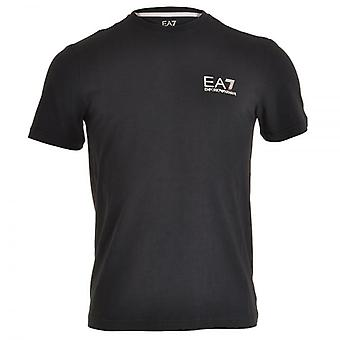EA7 Emporio Armani Train Core ID Logo V-Neck T-Shirt, Night Blue, Small