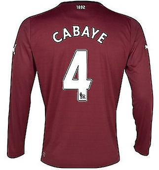 2012-13 Newcastle Long Sleeve Away Shirt (Cabaye 4)