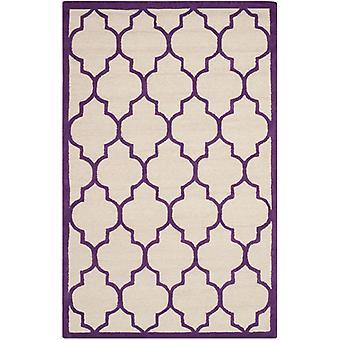 Everly elfenben & rige lilla espalier tæppe - Safavieh