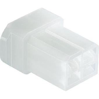 Socket enclosure - cable FASTIN-FASTON Total number of pins 4 TE Connectivity 626056 Contact spacing: 5 mm 1 pc(s)