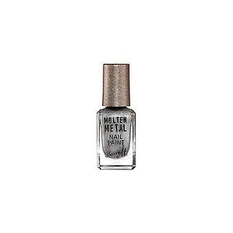 Barry M Barry M Molten Metal Nail Paint Silver Lining