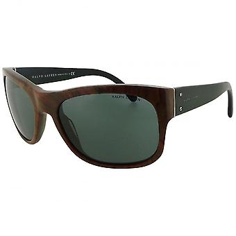 Ralph Lauren Ex-display Ralph Lauren Men's Faux Wood Effect Square Sunglasses