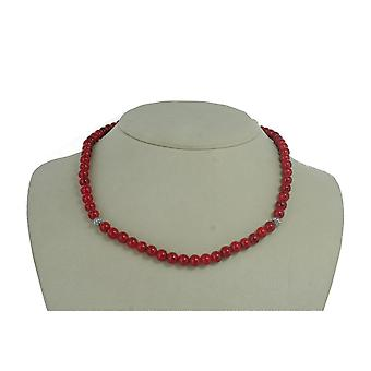 EDC by esprit ladies chain stainless steel red EENL10309A420