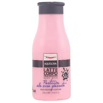 Aquolina Le Gourmand Body Milk 250 Ml #Rose Frosted Cupcake