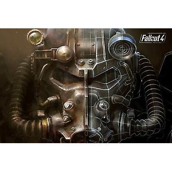 Fallout 4 Gaming Poster Poster Print