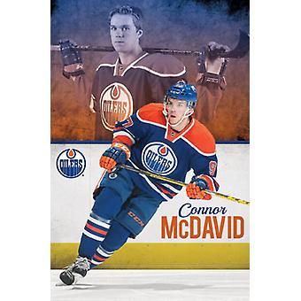 Edmonton Oilers - Connor McDavid Poster Poster Print