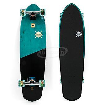 Globe Blazer XL Skateboard - Blue Tropics