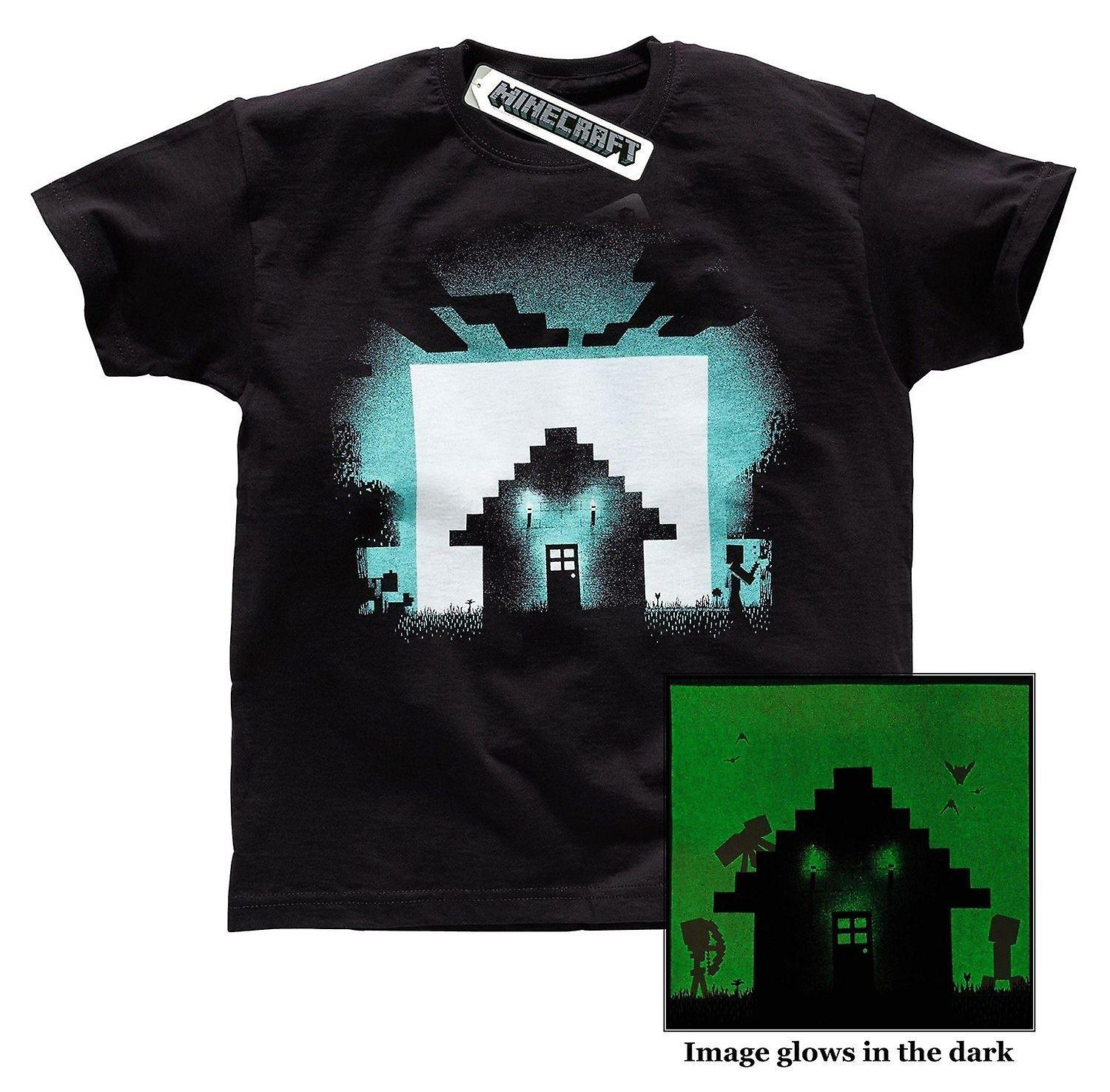 SURVIVAL Adult Minecraft T-Shirt Size SMALL