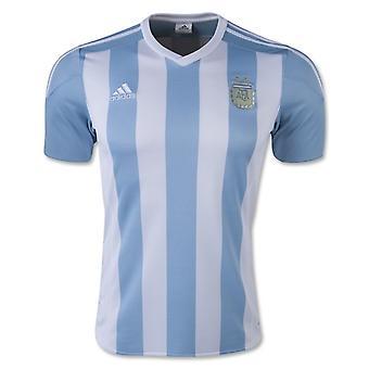 2015-2016 Argentina Home Adidas Football Shirt (Kids)