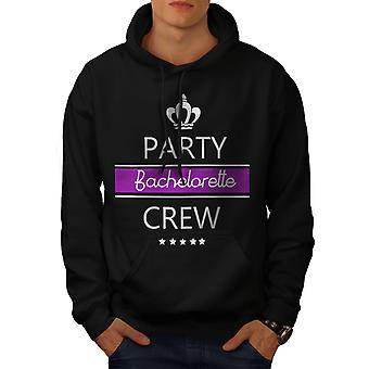 Bachelor Party menn BlackHoodie | Wellcoda