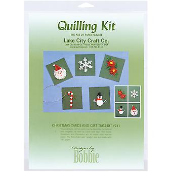 Quilling Kit Christmas Cards & Tags Q211