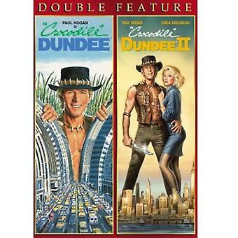 Paul Hogan - Crocodile Dundee 1-2 [DVD] USA import