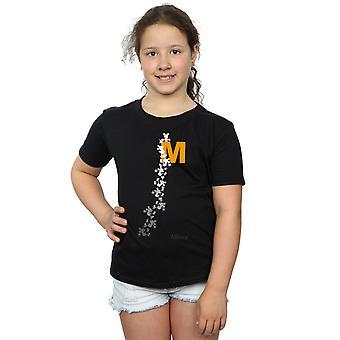 Disney Girls Mickey Mouse Climbing Silhouettes T-Shirt