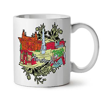 42 Weed NEW White Tea Coffee Ceramic Mug 11 oz | Wellcoda