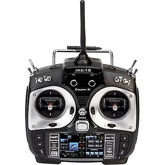 Graupner MZ-18 Hott Handheld RC 2,4 GHz No. of channels: 9