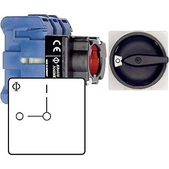 Bryteren disconnector sikring 20 A 230 V 1 x 90 ° Blac