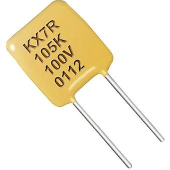 Ceramic capacitor Radial lead 0.1 µF 50 V 20 %