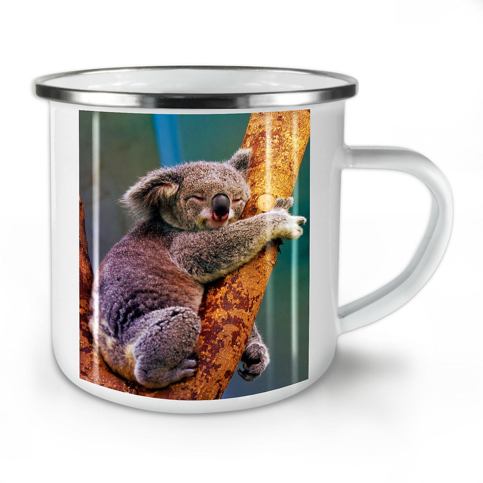 Arbre Whitetea Mug10 Café Nouveau Émail OzWellcoda Koala Sur Un fbyvIY76g