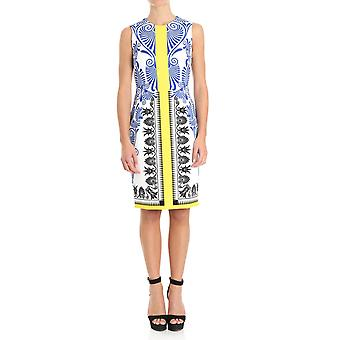 Versace collection ladies G34198G603906G7001 multicolour polyester dress
