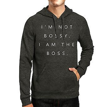 Je ne suis pas autoritaire Mens/Unisex Cool gris pull Fleece Hoodie humoristique hiver cadeau