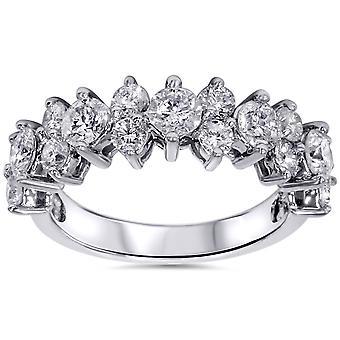 2ct Diamant-Ring 14K Weissgold