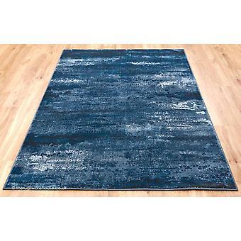 Strata wolken blauw tapijt