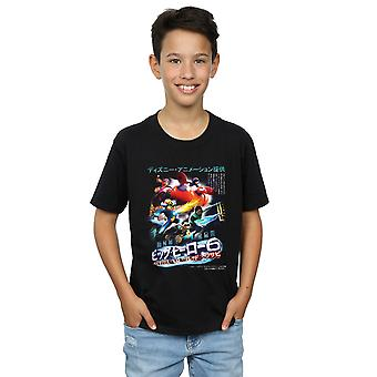 Disney Boys Big Hero 6 Anime Cover T-Shirt