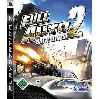 PS3 Game Full Auto 2 Battlelines (german) - Factory Sealed