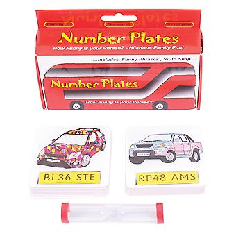 ZooBooKoo Number Plates Card Games - 4 Educational Games in 1