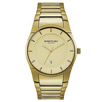 Kenneth Cole New York men's wrist watch analog quartz stainless steel 10027726