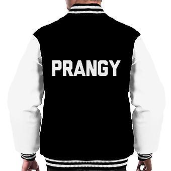 Hou van eiland Prangy Slogan mannen Varsity Jacket