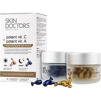 Skin Doctors Collagen Boosting Day & Night Ampoules Duo Pack