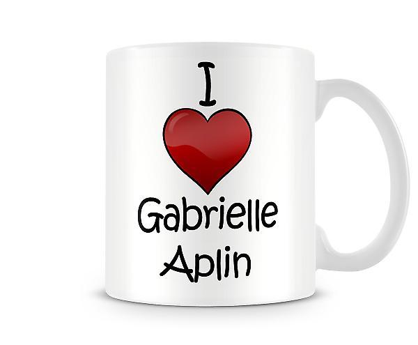 I Love Gabrielle Aplin Printed Mug