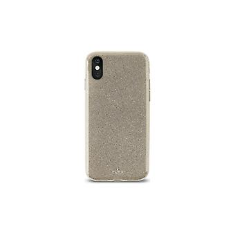 PURO iPhone X, Shine Cover, gold