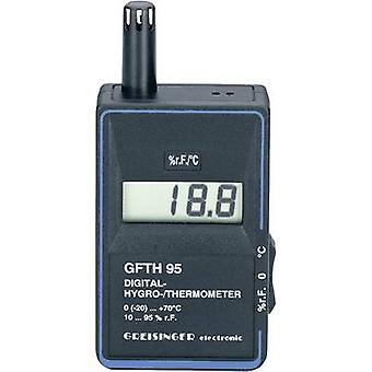 Greisinger GFTH 95 Hygrometer 10 % RH 95 % RH Calibrated to: Manufacturers standards (no certificate)