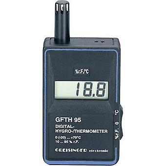 GREISINGER GFTH 95 higrómetro 10% RH 95% RH calibrado a: las normas del fabricante (no certificado)