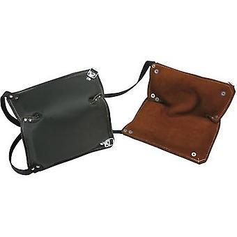 2487 Leather knee pad Brown, Black 1 pair