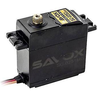 Savöx Standard servo SC-0251MG Digital servo Gear box material: Metal Connector system: JR