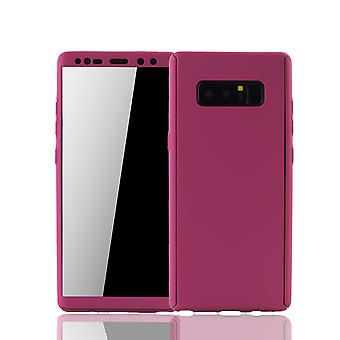 Samsung Galaxy touch 8 Mobile Shell Schutzcase full cover 360 display protection foil pink