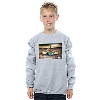 Friends Boys Central Perk Photo Sweatshirt
