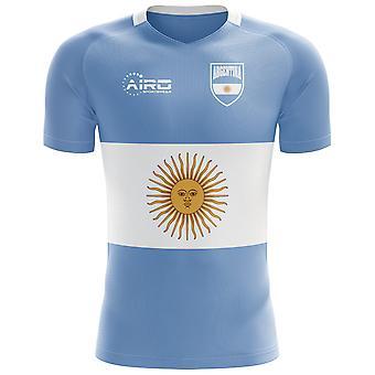 Koszulka piłkarska pojęcie flaga 2018-2019 Argentyna (dla dzieci)