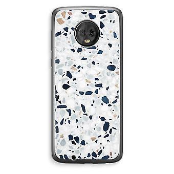Motorola Moto G6 Plus Transparent Case (Soft) - Terrazzo N°1