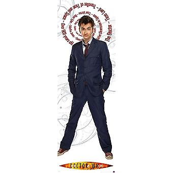 Doctor Who Poster Blue Suit Season 4  T�rposter