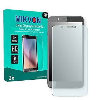 Archos 55 Helium Ultra Screen Protector - Mikvon Clear (Retail Package with accessories)