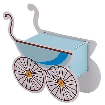 TRIXES Baby Handcart Candy Boxes 25PCS Blue
