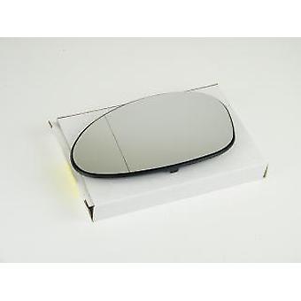 Left Passenger Mirror Glass (Heated) & Holder For BMW 3 Convertible 2006-2009